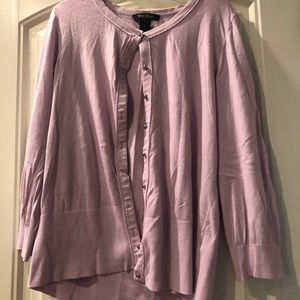 Light lavender cardigan